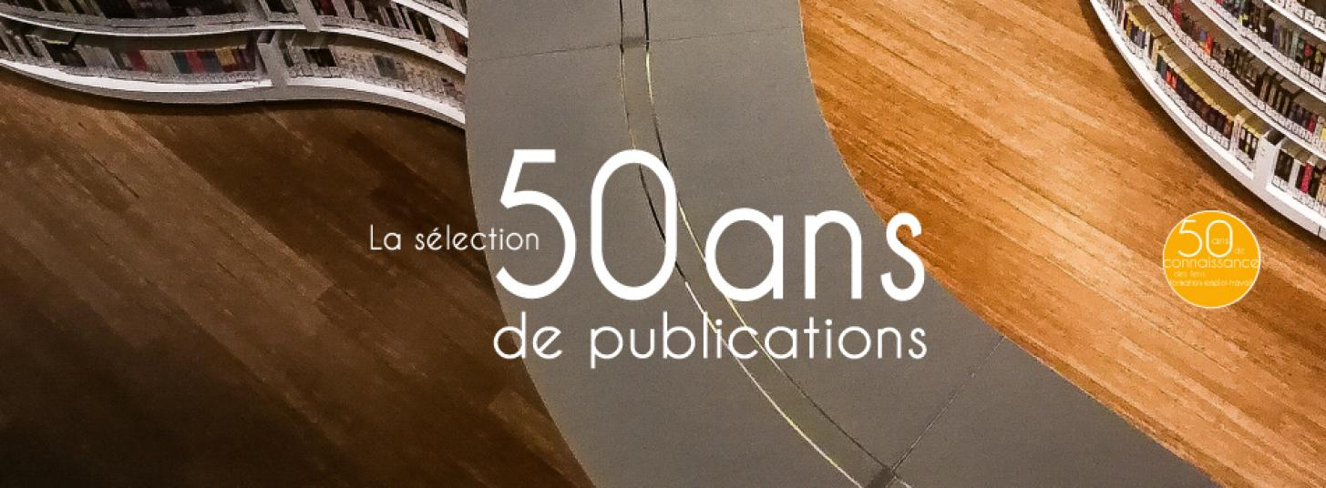 50 ans 50 publications